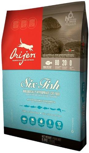 Orijen cat kitten formula review the original canadian for Orijen six fish dog food