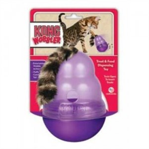 KONG Cat Wobbler Treat Dispensing Toy – Full Review