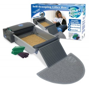 SmartScoop Litter Box Package