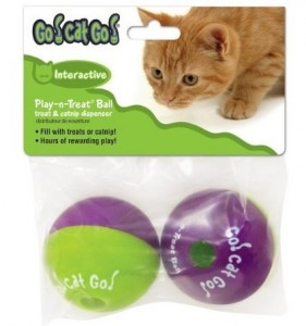Go Cat Go Play-N-Treat