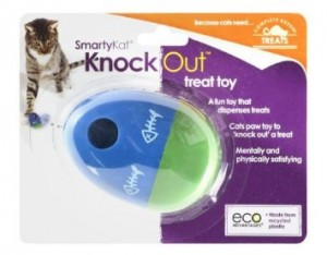 SmartyKat KnockOut Cat Treat Dispensing Toy Review