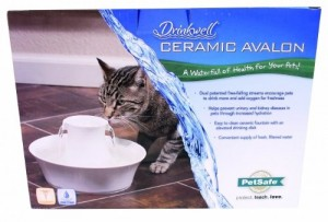 Petsafe Drinkwell Avalon in its box