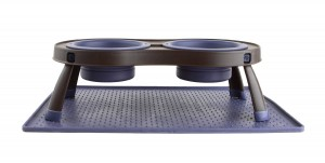 Dexas Popware Grip Mat underneath food bowls