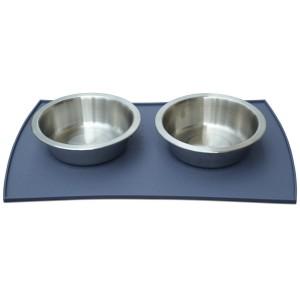 Petfusion Food Mat with 2 bowls