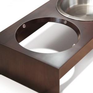 Plastic inserts to keep bowls put