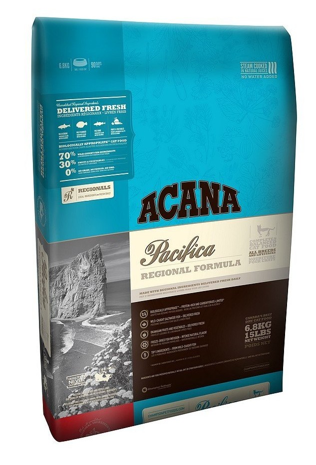 Acana Pacifica Cats Amp Kittens Dry Food Review Is This