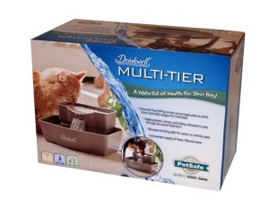Drinkwell Multi Tier Pet Fountain in its box