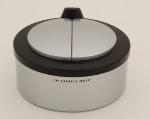 Sharper Image Motion Pet Feeder with lids closed
