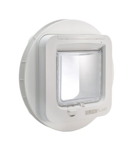 SureFlap DualScan installed with Mounter Adapter