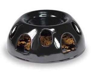 Tiger Diner Ceramic Cat Feeder