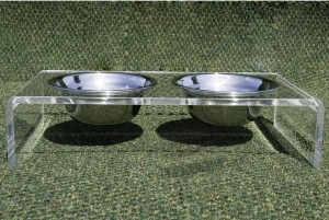 Duxury pet feeder bowls depth