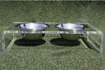 Duxury pet feeder bowls depth