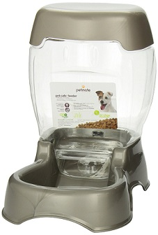 Petmate Cafe Pet Feeder Pearl Tan Color