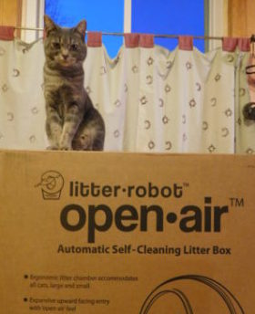 Litter Robot unboxed