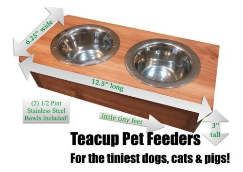 Elevated Pet Feeder 100% Solid Wood Review