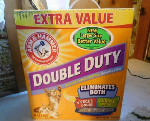The clumping litter I use with excellent results