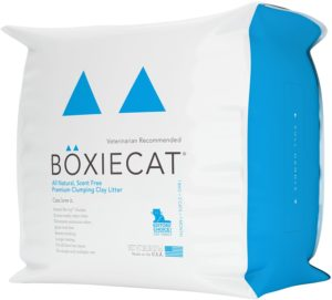 Boxiecat clumping cat litter