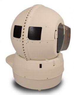 Litter Robot Bubble with Skylight-Bubble type window