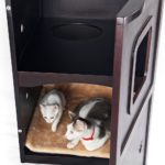 Petsfit Pet House Litter Box Enclosure Review